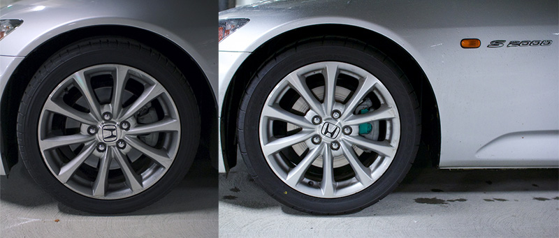 225 45R17 Tires >> Wheel width effect on driving characteristics given the same tire size - S2KI Honda S2000 Forums