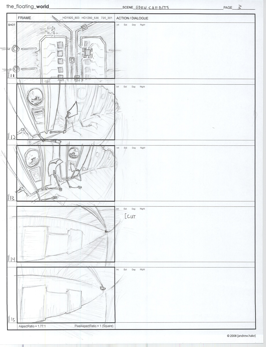 Animation Storyboard Template Images - Template Design Ideas